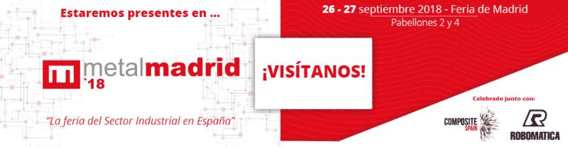 Empresa líder en Embutición, Corte y Soldadura láser 3D en Metalmadrid