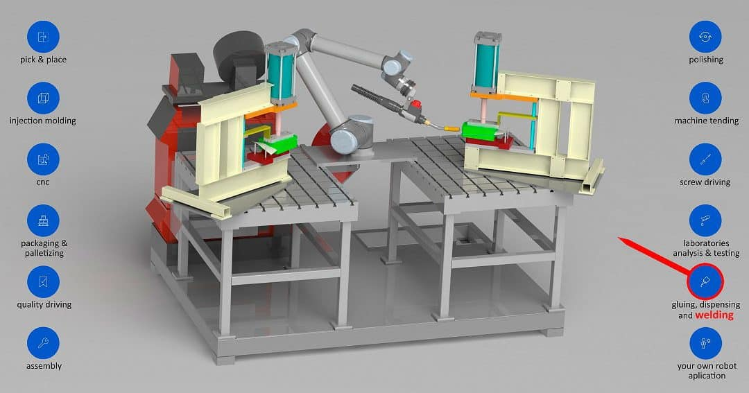 Robotized welding. Leading company in drawing, cutting and 3D laser welding