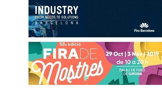 Empresa líder en Embutición, Corte y Soldadura láser 3D en INDUSTRY'19 Barcelona y en FIRA DE MOSTRES de Girona