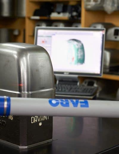 Brazo de máquina de medición por coordenadas (MMC) tridimensional